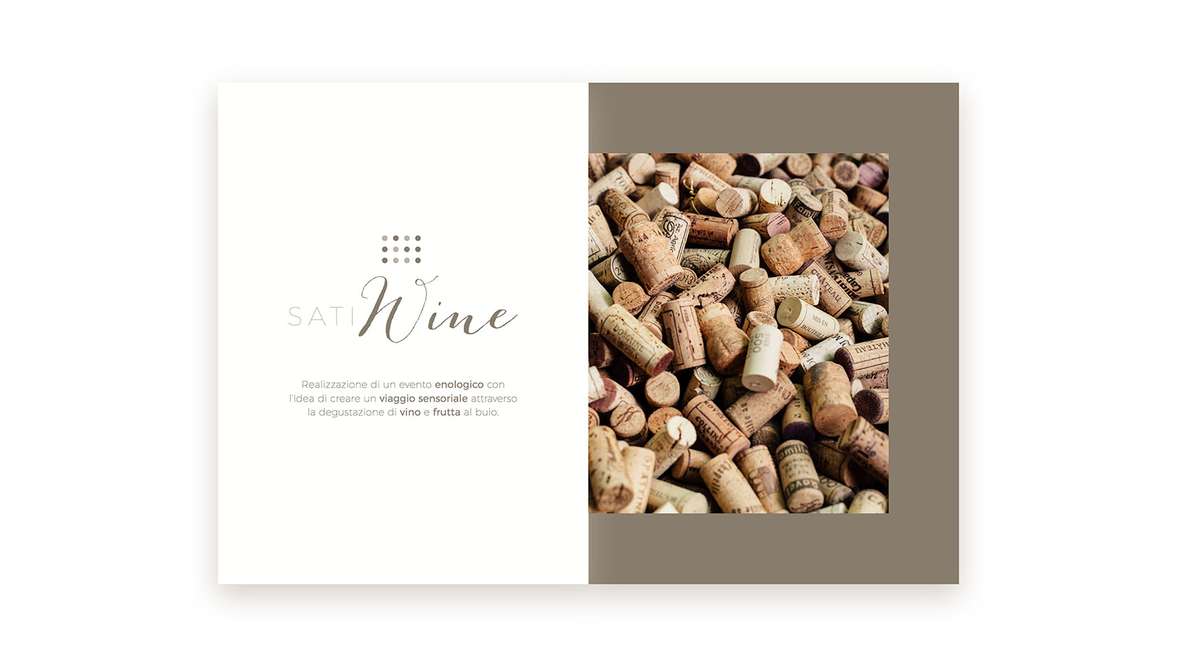 Graphic designer Project of Leff SatiWine