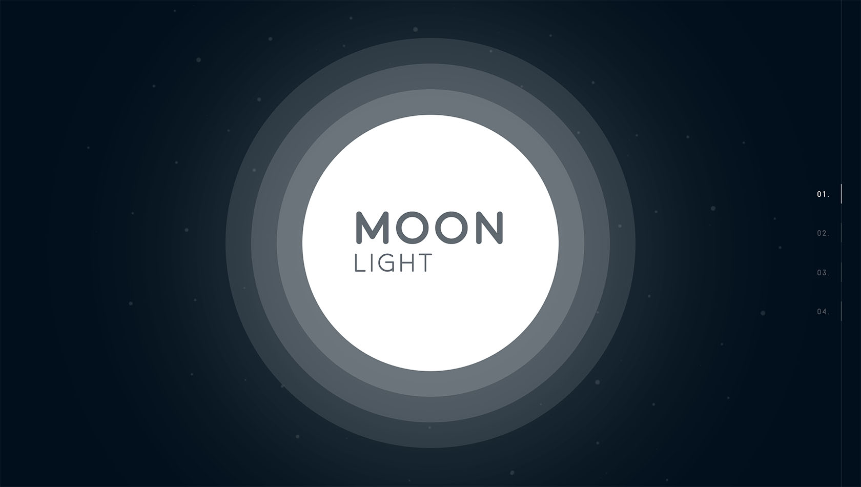 Web designer and Develoeper Project of Moonlight